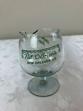 New listing Vintage Pat O'Brien's Have Fun Brandy Sniffer Glass with Pour Spout