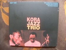 CD DIGIPACK KORA JAZZ TRIO - Part Two / Celluloid 67060.2   France  (2005)
