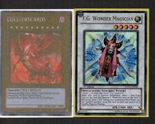 Yugioh Card - Ultra Rare Holo - T.G Wonder Magician EXVC-EN040 1st Edition