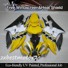 Yellow Fairing Injection Molding Bodywork Kit for 2006-2007 Yamaha YZF R6 R600