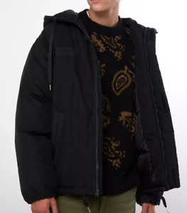Urban Outfitters BDG Black Men's Hooded Parka Winter Jacket - size M - NWT- $99