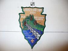 2001 Camp Gardner Dam, TAN Sky, Bay Lakes Council,pp, OA 61 Awase,156,233,635,WI