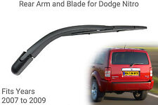 Rear Wiper Arm & Blade to fit Dodge Nitro 2007 to 2009