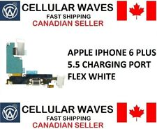 Apple iPhone 6 Plus 5.5 Charging Port Headphone audio Jack Microphone White 6P01