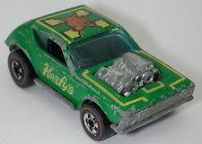 Redline Hotwheels Green herfy's 1975 Gremlin Grinder oc14092