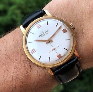 BREITLING  geneve,  vintage dress watch.  ref: 4503