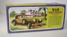 Repro Box Matchbox MOY Nr.15 Packard Victoria Blisterbox