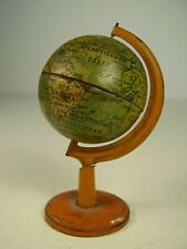 Antiker Puppenstuben Tisch Globus Blech vor 1945