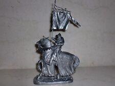 Soldado De Plomo Juguete, los cruzados, en el caballo, Coleccionable, rara, Regalo, na