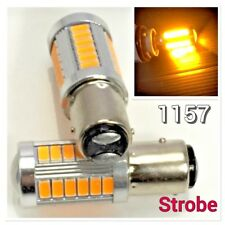 Strobe Front Turn Signal Light 1157 2057 3496 7528 BAY15D 33 SMD LED Amber K1 H