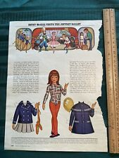 """Betsy McCall Paper Dolls 1972 """"...Visits the Joffrey Ballet"""" Good"""