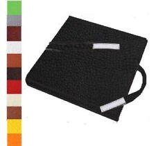 GALETTE, COUSSIN DE CHAISE IMPERMEABLE SIMILI CUIR 38x38cm Coloris au choix