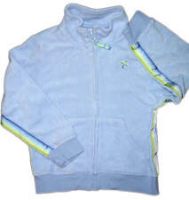 Gymboree Vacation Time Girls Blue Cotton Terry Cloth Jacket Size 5