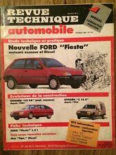 Revue Technique Automobile FORD Fiesta moteurs essence et diesel