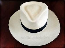 Genuine Fedora Straw Panama Hat 20 Points - All Sizes - [Montecristi - Ecuador]