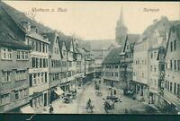 Ansichtskarte Wertheim a. Main Marktplatz 1912  (Nr.9633)