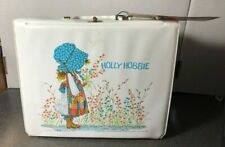 Vintage 1972 Vinyl Holly Hobbie Lunchbox with Thermos and Tag