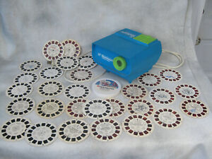 Vtg Disney Gaf View Master Theatre In The Round w/ Reels  Projector Lot works