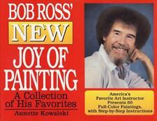 """Bob Ross New Joy of Painting"" Oil Color How to Book"