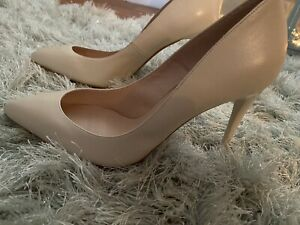 🤍genuine Office - Court Shoes🤍Off White Leather👠size 7uk (small fit) new