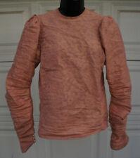 DRACULA UNTOLD Prop Medieval Renaissance Long Sleeve Womens Shirt S M LARP SCA
