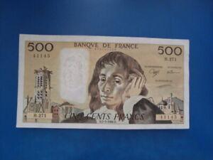 500   FRANCS   PASCAL  1988    H 271