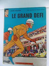 MICHEL VAILLANT  LE GRAND DÉFI JEAN GRATON DARGAUD RÉED 1969