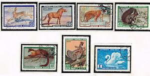 Russia Fauna Wild Animals Birds set 1959