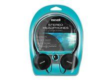 Lot of 6 Maxell HP-200 Lightweight Stereo Headphones