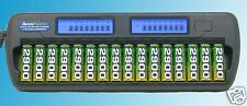 AccuPower AccuManager16 AP1216 Battery Charger 16 Bank Bay AA AAA NiMH LCD