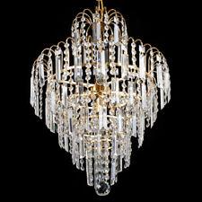 Modern Crystal Ceiling Elegant Chandelier Pendant Fixture Light E12 Lamp Decor