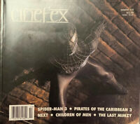 CINEFEX magazine 110 - Pirate 3 - Spiderman 3 - Mimzy - Children Of Men Like New