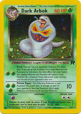 Team Rocket Pokémon Individual Cards with Holo