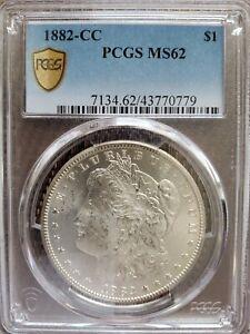 1882 CC Morgan MS 62 PCGS Beautiful CC!!