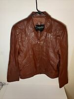 Rare Vintage Casablanca Leather Jacket 40. Medium Size