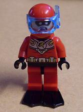 Lego Superhelden - Batman - Scuba Robin Figur ( Taucher rot Flossen Skuba ) Neu