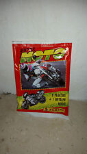 BUSTINA FIGURINE + MOTO METAL 3D PANINI SUPER MOTO SUPERMOTO 1993 STICKER ALBUM