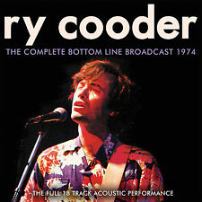 RY COODER New Sealed 2018 UNRELEASED ACOUSTIC LIVE 1974 NEW YORK CONCERT CD