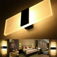 Modern LED Wall Light Up Down 3W Lamp Sconce Spot Lighting Home Bedroom Fixture