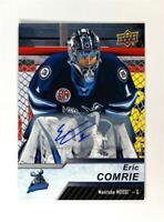 2018-19 18-19 UD Upper Deck AHL Auto #56 Eric Comrie