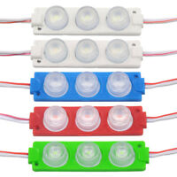 3030 3LED Module Lighting Lens Sign Back Light Lamp Waterproof LED Strip Lights