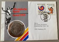 Kore - Numisbrief - 1988 - Olympische Spiele Seoul 1988