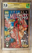 New Mutants #98/1app Deadpool signed by Stan Lee y signed & sketch by Rob...