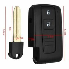 2 BUTTON Remote Key Shell Fob Case Switch Battery For Toyota Corolla Verso Prius