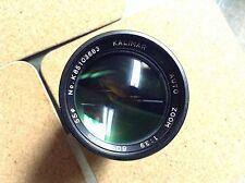 Kalimar 80-200 F3.9 Pentax KR Mount Lens