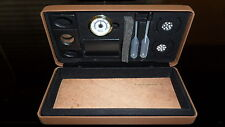 Csonka Saddle Tan Cigar Humidor Traveler /Ceder Bottom / Accessories / GSTRA-TAN