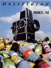 Hasselblad 500EL/M Camera System Sales Brochure, Other Catalogues Listed