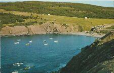 Postcard Newfoundland Canada Outer Cove Long Marine Drive ca 1960s