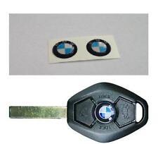 BMW Emblem Plakette für Schlüssel Fernbedienung 2x3D 11mm Aufkleber