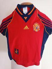 Maillot Domicile Espagne Football 1998-1999 (8 ans) Maillot Adidas Camiseta